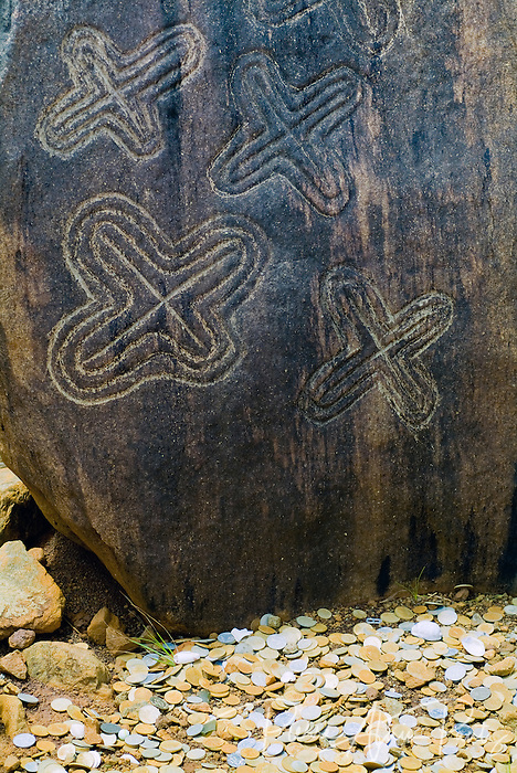 Petroglyphes du plateau de Poro