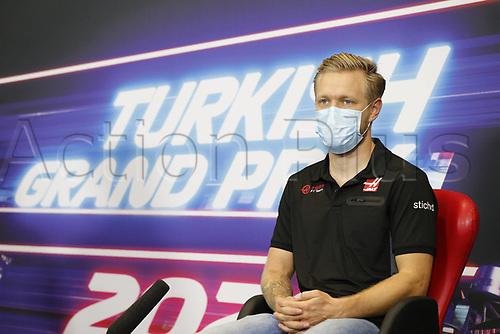 12th November 2020; Istanbul Park, Istanbul, Turkey;   FIA Formula One World Championship 2020, Grand Prix of Turkey, 20 Kevin Magnussen DEN, Haas F1 Team pre race press conference