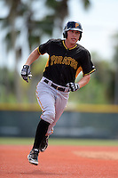 Pittsburgh Pirates shortstop Jacoby Jones (54) during an Instructional League intersquad scrimmage on September 29, 2014 at the Pirate City in Bradenton, Florida.  (Mike Janes/Four Seam Images)