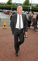 Pictured: Alan Curtis arrives Wednesday 20 May 2015<br /> Re: Swansea City FC Awards Dinner at the Liberty Stadium, south Wales, UK
