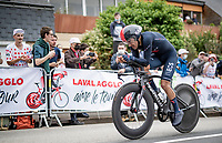 Richard Carapaz (ECU/INEOS Grenadiers)<br /> <br /> Stage 5 (ITT): Time Trial from Changé to Laval Espace Mayenne (27.2km)<br /> 108th Tour de France 2021 (2.UWT)<br /> <br /> ©kramon