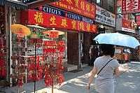 Toronto (ON) CANADA - July 2012 -  Toronto  Chinatown