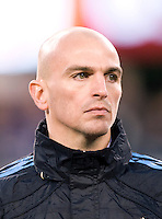 Esteban Cambiasso. The USMNT tied Argentina, 1-1, at the New Meadowlands Stadium in East Rutherford, NJ.