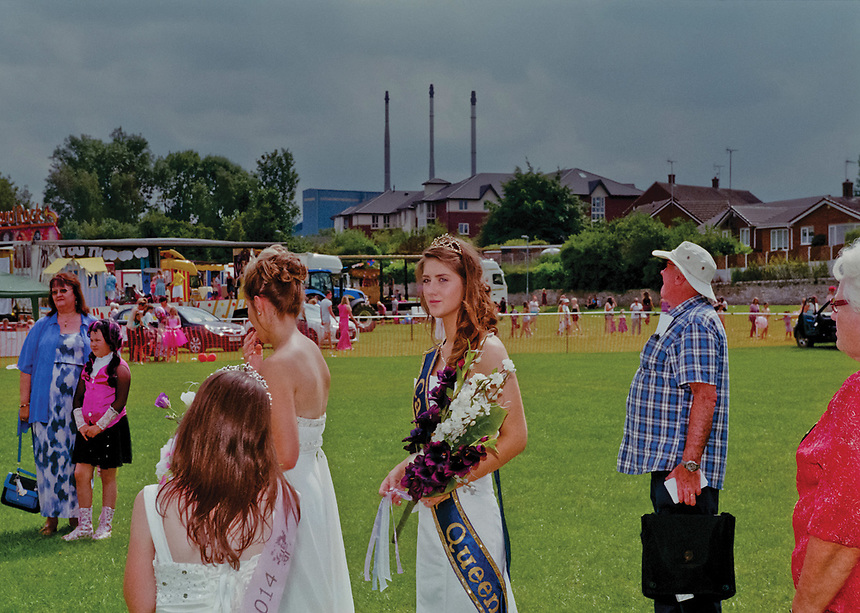 """Queen of Knottingley & Ferrybridge, Melissa Green.<br /> <br /> """"Another nail in the coffin of Knottingley, future kids will not know what it was like having the carnival community event where all the streets were lined with people. The pubs were full, the park was an attraction. Nothing left in this town now to look forward to."""""""