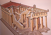 Greece: Temple of Aphaia, Aegina c. 490 BC.  From George Mawsell, ANATOMY OF ARCHITECTURE.