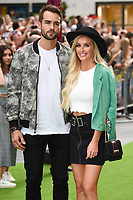 """Paul Knops and Laura Anderson<br /> The premiere of """"The Festival"""" at Cineworld Leicester Square<br /> <br /> ©Ash Knotek  D3419  13/08/2018"""