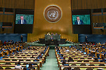 General Assembly Seventy-third session, 14th plenary meeting<br /> <br /> <br /> Latvia
