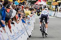 white jersey // Tadej Pogacar (SVN/UAE-Emirates) <br /> <br /> Stage 5 (ITT): Time Trial from Changé to Laval Espace Mayenne (27.2km)<br /> 108th Tour de France 2021 (2.UWT)<br /> <br /> ©kramon