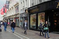 Einkaufstraße King Street in  St.Helier, Insel Jersey, Kanalinseln