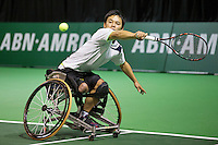 Rotterdam, The Netherlands, Februari 10, 2016,  ABNAMROWTT, Takashi Sanada (JPN)<br /> Photo: Tennisimages/Henk Koster