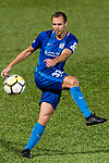 SC Kitchee Defender Krisztin Vadocz in action during the Community Cup match between Kitchee and Eastern Long Lions at Mong Kok Stadium on September 23, 2017 in Hong Kong, China. Photo by Marcio Rodrigo Machado / Power Sport Images