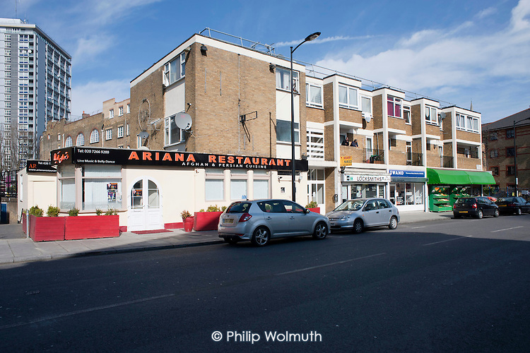 Westbourne Parade improvements: 14 March 2011.