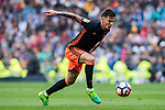 Santiago Mina Lorenzo, Santi Mina, of Valencia CF in action during their La Liga match between Real Madrid and Valencia CF at the Santiago Bernabeu Stadium on 29 April 2017 in Madrid, Spain. Photo by Diego Gonzalez Souto / Power Sport Images