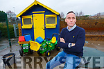 Derek O'Leary from Scamps and Scholars who is worried about the rising insurance costs for Crèches in the County