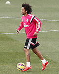 Real Madrid's Marcelo Vieira during training session.January 30,2015.(ALTERPHOTOS/Acero)