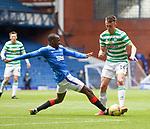 02.05.2021 Rangers v Celtic: Glen Kamara and David Turnbull
