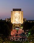 Sept. 11, 2011; 9/11 anniversary Mass on Library quad...Photo by Matt Cashore/University of Notre Dame