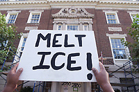 Protests against Amazon and ICE