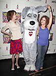 Mary Tyler Moore & Maddie & Bernadette Peters .Backstage at Broadway Barks Lucky 13th Annual Adopt-a-thon  in New York City.