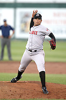 August 11, 2009: Leonardo Astorga of the Billings Mustangs.The Mustangs are the Pioneer League affiliate for the Cincinnati Reds. Photo by: Chris Proctor/Four Seam Images