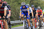The peloton including Enric Mas Nicolau (ESP) Quick-Step Floors in action during the 99th edition of Milan-Turin 2018, running 200km from Magenta Milan to Superga Basilica Turin, Italy. 10th October 2018.<br /> Picture: Eoin Clarke | Cyclefile<br /> <br /> <br /> All photos usage must carry mandatory copyright credit (© Cyclefile | Eoin Clarke)