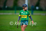 Kerry's Jessica Fitzell in action against Meath in the Camogie Intermediate Championship