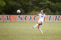 SAN ANTONIO, TX - SEPTEMBER 12, 2021: The University of Texas at San Antonio Roadrunners finish in a 1-1 draw against the Houston Baptist University Huskies at the Park West Athletics Complex (Photo by Jeff Huehn).