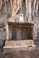 Europe/Europe/France/Midi-Pyrénées/46/Lot/Rocamadour: Tombeau De Saint Amadour