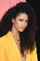 """Vick Hope<br /> arriving for the """"Rampage"""" premiere at the Cineworld Empire Leicester Square, London<br /> <br /> ©Ash Knotek  D3395  11/04/2018"""