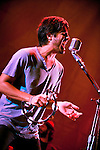 Young the Giant perform at Mohegan Sun Arena on September 7, 2011