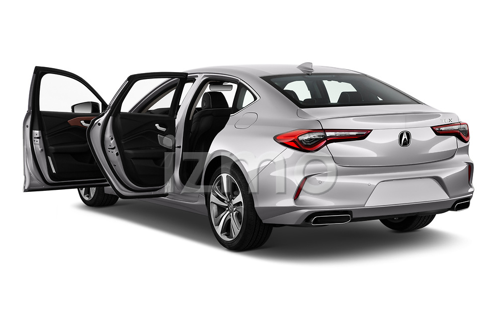 Car images of 2021 Acura TLX Advance-Package 4 Door Sedan Doors