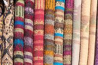 Nepal, Kathmandu.  Fabric.