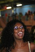 SAO PAULO, SP, 09 DE DEZEMBRO DE 2011, Joice Costa, Rainha  de bateria da Camisa Verde e Branco, no LANÇAMENTO DO CD DA LIGA DAS ESCOLAS DE SAMBA 2012 na quadra da Escola de Samba Rosas de Ouro, zona norte de SP.  (FOTO: MILENE CARDOSO / NEWS FREE)