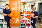 """Comfort For Chemo : Pictured at Doran's Pharmacy, Listowel to promote the """"Comfort for Chemo"""" support  were Ryanne Leahy & Irene Harnett on Saturday last."""