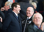 Kilmarnock v St Johnstone...05.04.14    SPFL<br /> Tommy Wright talks with Paul Smith<br /> Picture by Graeme Hart.<br /> Copyright Perthshire Picture Agency<br /> Tel: 01738 623350  Mobile: 07990 594431