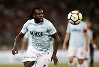 Calcio, Serie A: Roma, stadio Olimpico, 20 settembre 2017.<br /> Lazio's Jordan Lukaku in action during the Italian Serie A football match between Lazio and Napoli at Rome's Olympic stadium, September 20, 2017.<br /> UPDATE IMAGES PRESS/Isabella Bonotto