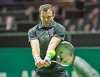 Rotterdam, The Netherlands, Februari 8, 2016,  ABNAMROWTT, Teymuraz Gabashvili (RUS)<br /> Photo: Tennisimages/Henk Koster