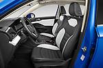 Front seat view of 2022 Volkswagen Taos SEL 5 Door SUV Front Seat  car photos