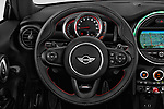 Car pictures of steering wheel view of a 2019 MINI Cooper John-Cooper-Works-Convertible Door Convertible Steering Wheel