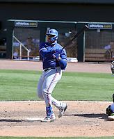 Curtis Terry - Texas Rangers 2021 spring training (Bill Mitchell)