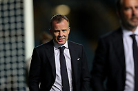 Leeds United chief executive Angus Kinnear takes his place in the stand for the match<br /> <br /> Photographer Alex Dodd/CameraSport<br /> <br /> Carabao Cup Second Round Northern Section - Leeds United v Hull City -  Wednesday 16th September 2020 - Elland Road - Leeds<br />  <br /> World Copyright © 2020 CameraSport. All rights reserved. 43 Linden Ave. Countesthorpe. Leicester. England. LE8 5PG - Tel: +44 (0) 116 277 4147 - admin@camerasport.com - www.camerasport.com