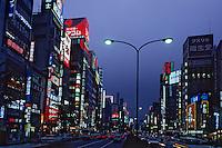 """Asie/Japon/Tokyo: Le quartier de """"Shinkuju"""" la nuit"""