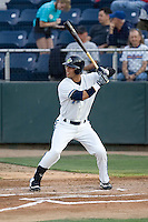 August 4, 2009: Everett AquaSox's Matthew Cerione at-bat during a Northwest League game against the Boise Hawks at Everett Memorial Stadium in Everett, Washington.