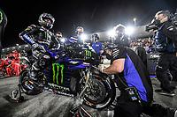 Maverick Vinales Winner <br /> Yamaha YZR M1 <br /> Losail 28/03/2021 MotoGp Qatar <br /> Photo Yamaha  Press Office / Insidefoto <br /> EDITORIAL USE ONLY