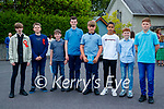 O'Brennan NS pupils who were confirmed last Thursday in St Brendan's Church, Clogher were Jerome Broderick, Evan Clail, Ray Horgan, Caoimhín Murphy, John Leen, Oisin Sookarry, Nick Lacey and Brian Murphy.