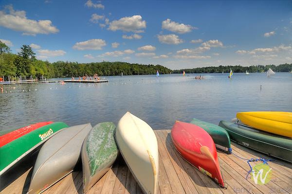 Eagles Mere Lake.