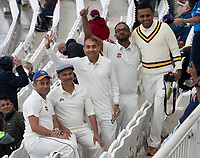 The weather failed to dampen some of the fans spirits during India vs New Zealand, ICC World Test Championship Final Cricket at The Hampshire Bowl on 21st June 2021