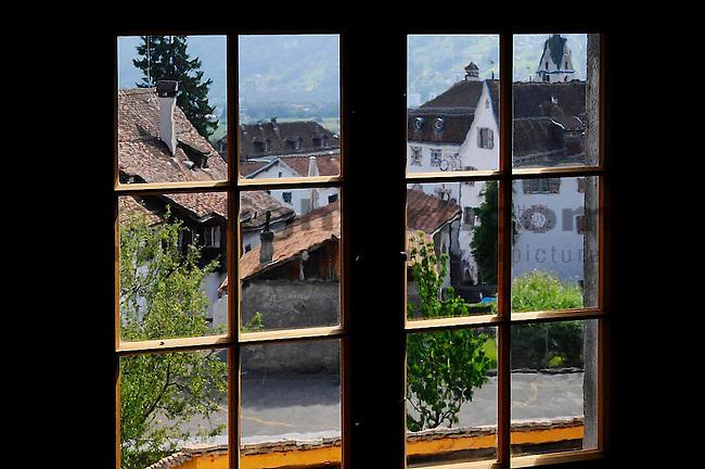 Archtektur-Reportage über das renovierte Haus Moos in Malans, Graubünden..Foto: Paul Trummer