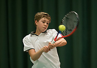 The Hague, The Netherlands, March 17, 2017,  De Rhijenhof, NOJK 14/18 years, Bastiaan Weststrate (NED)<br /> Photo: Tennisimages/Henk Koster