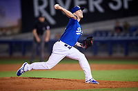 Tulsa Drillers relief pitcher Corey Copping (13) delivers a pitch during a game against the Corpus Christi Hooks on June 3, 2017 at ONEOK Field in Tulsa, Oklahoma.  Corpus Christi defeated Tulsa 5-3.  (Mike Janes/Four Seam Images)